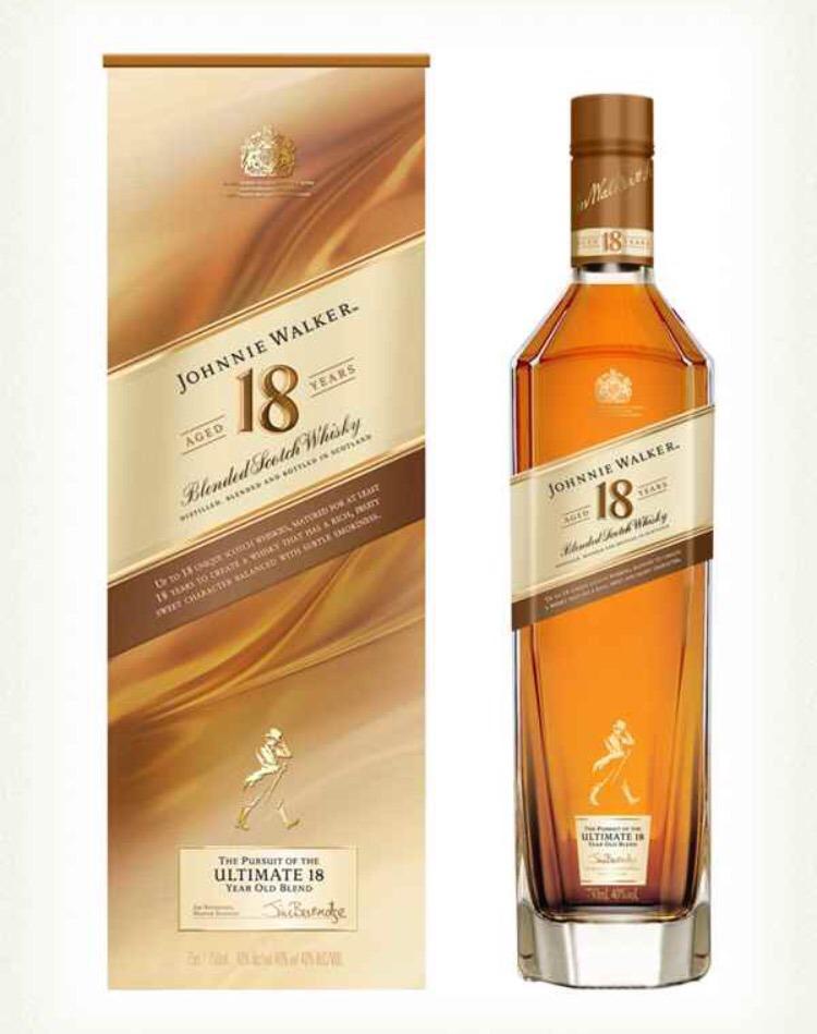 Johnnie Walker 18 años